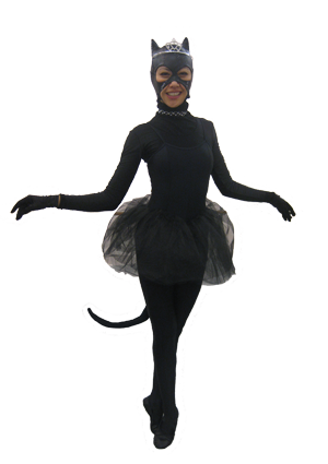 Caterina the ballet dancing cat