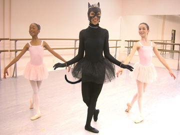 Caterina and Her Baby Ballerinas